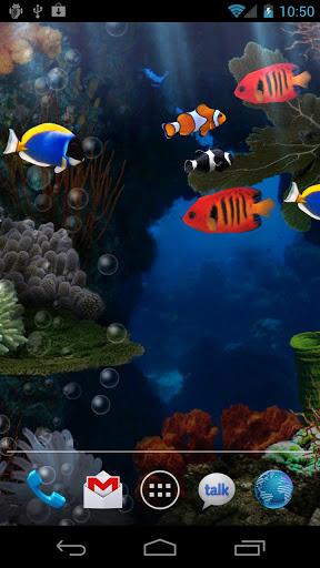 Aquarium Free Live Wallpaper screenshot 1