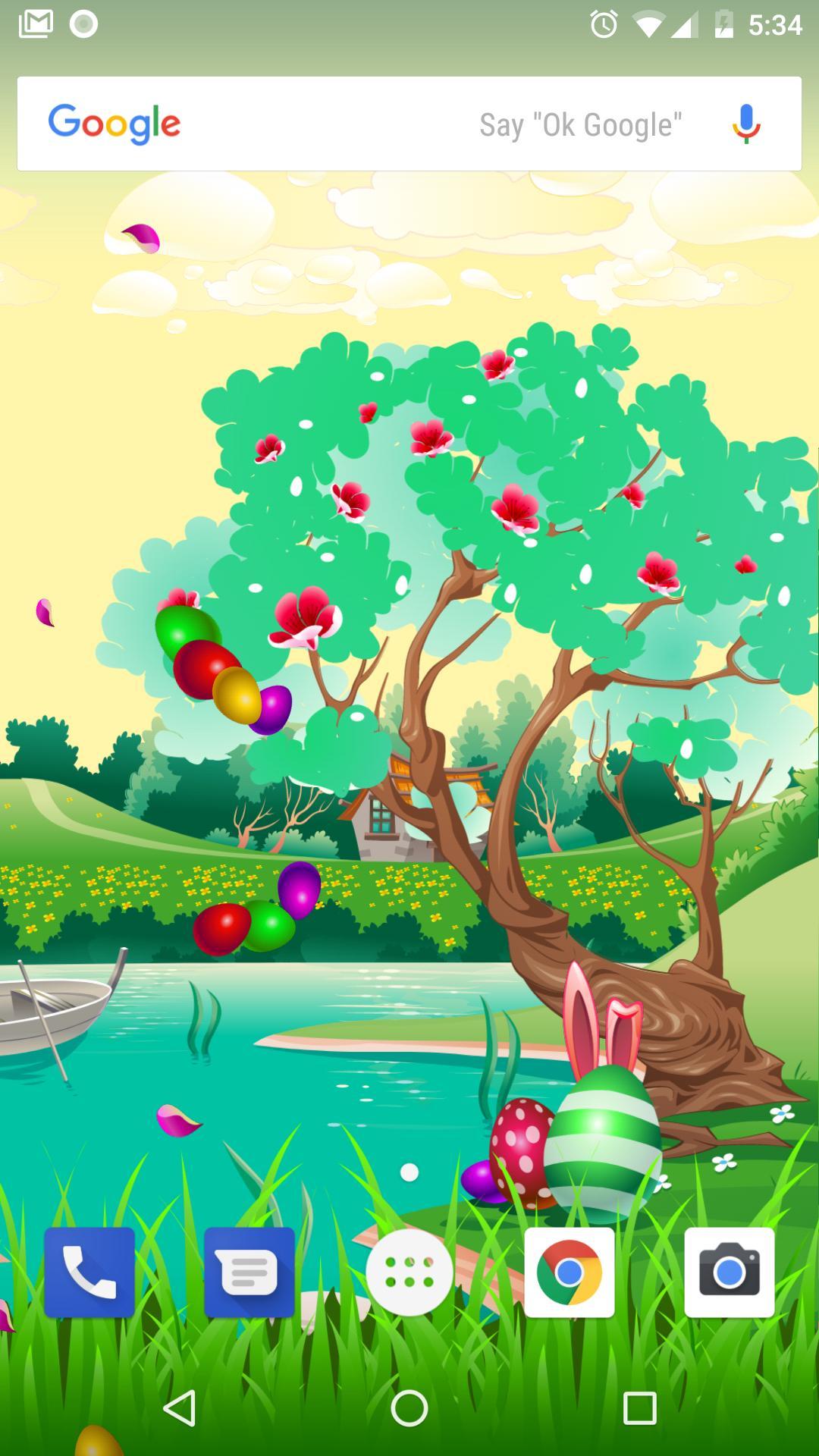 Spring and Easter Live Wallpaper + Tamagotchi Pet screenshot 7