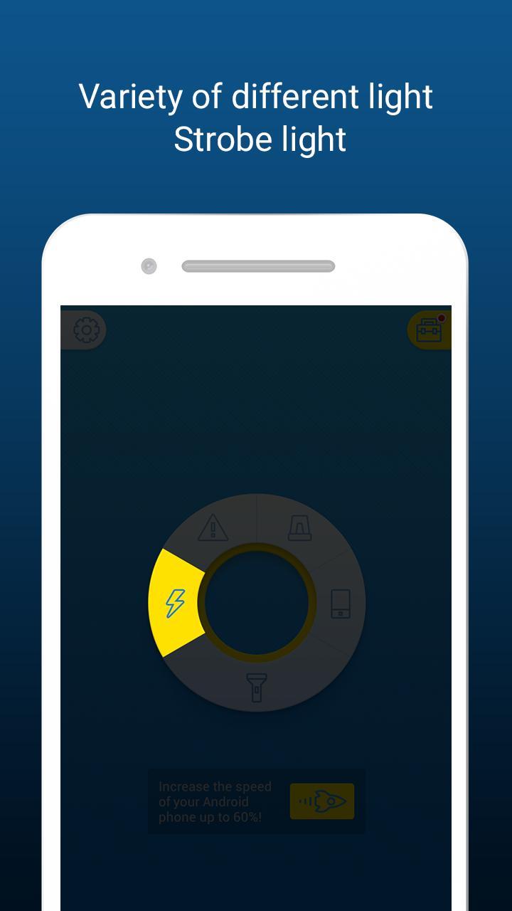 HD Flashlight - Bright & Free screenshot 3