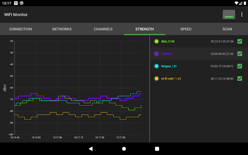 WiFi Monitor: analyzer of WiFi networks screenshot 12