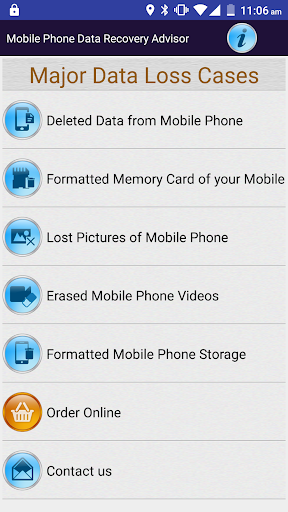 Mobile Phone Data Recovery DOC screenshot 2