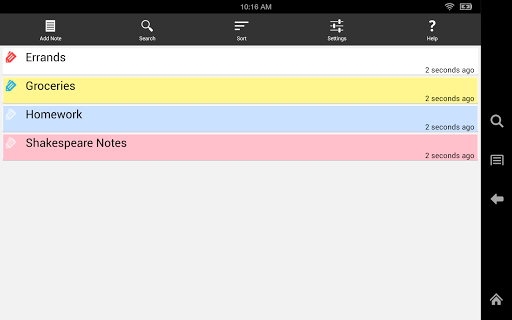 Ultimate Notepad - #1 Notes App with Cloud Sync 9 تصوير الشاشة