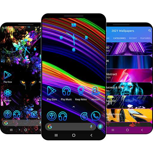 Wallpapers 2021 & Themes for Android ™