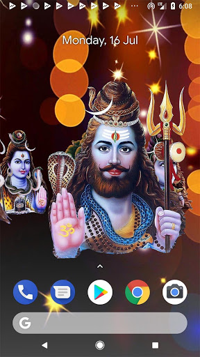 4D Shiv Shankara Live Wallpaper screenshot 4