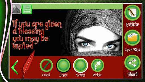 Islamic Caption on Pictures screenshot 4