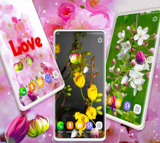 Cherry Blossom Live Wallpaper 🌸 Spring Wallpaper screenshot 3