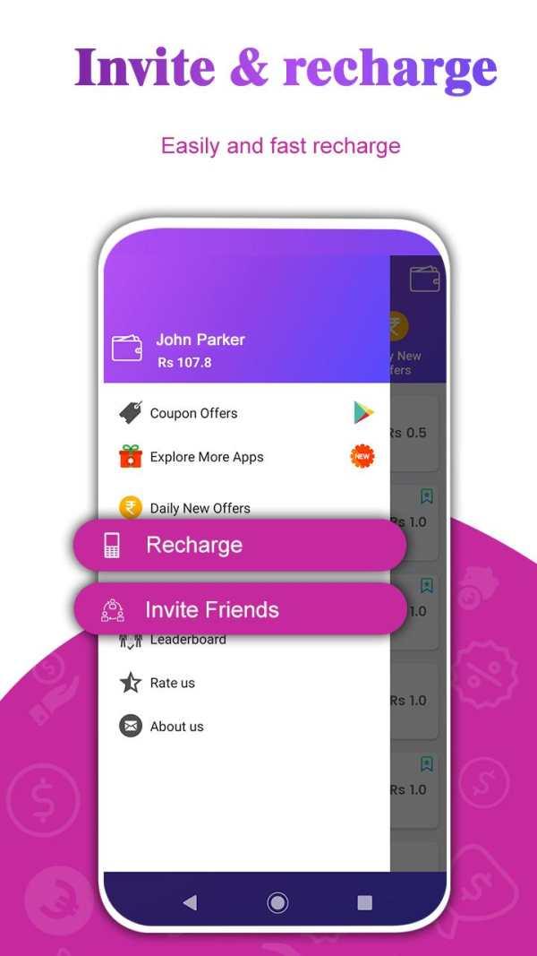 Free Mobile Recharge screenshot 4