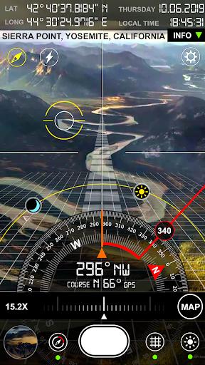 Compass S8 (GPS Camera) 3 تصوير الشاشة