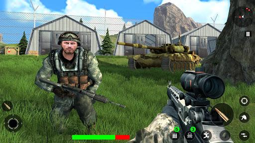 Survival Free Fire Battlegrounds: FPS Shooting 3D screenshot 4