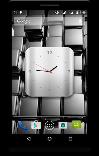Metal Clock Live Wallpaper 3 تصوير الشاشة