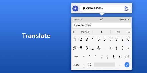 Gboard - the Google Keyboard screenshot 7