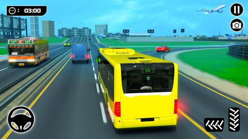 الباص ألعاب ٢١ : مدينة مدرب حافلة القيادة محاكاة 1 تصوير الشاشة