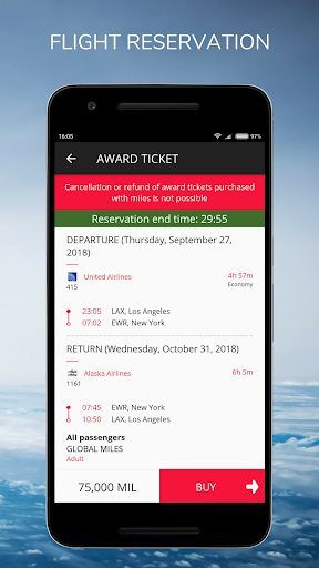 Global Miles - Flight Tickets, Buy Free with Miles screenshot 6