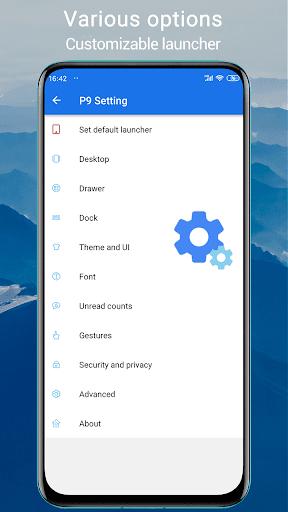 P Launcher 2021 new 👍 screenshot 7