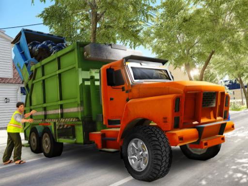 Garbage Truck Driving Simulator - Truck Games 2020 screenshot 9