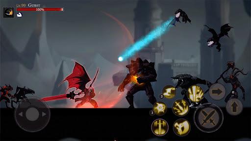 Shadow of Death: Dark Knight - Stickman Fighting screenshot 7