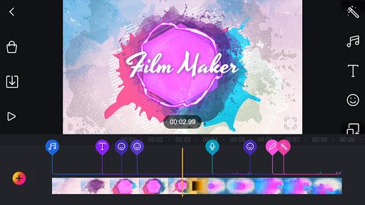Film Maker Pro – Видеоредактор, фото и Эффекты скриншот 1