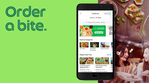 Grab - Transport, Food Delivery, Payments screenshot 2