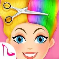 Super Hair Salon:Hair Cut & Hairstyle Makeup Games on 9Apps