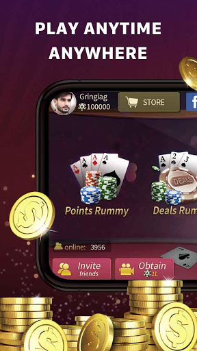 JoyPlus Rummy India screenshot 1