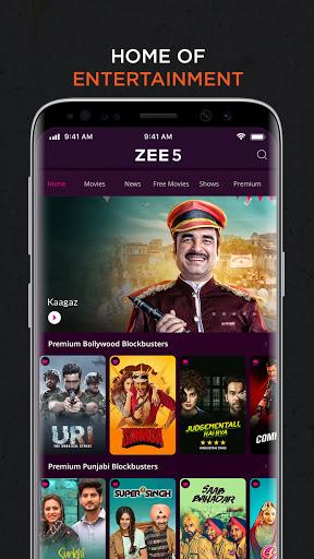 ZEE5: Movies, TV Shows, Web Series screenshot 1