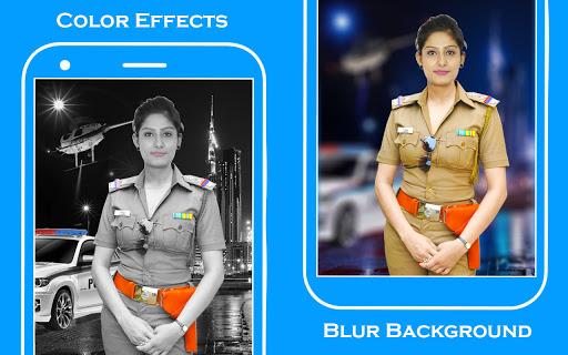 Women Police Suit Photo Editor screenshot 4