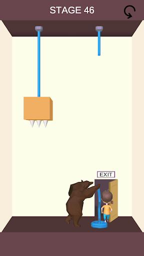 Rescue Cut - Rope Puzzle screenshot 2