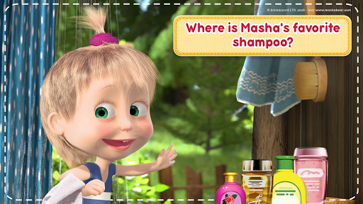Masha and the Bear: House Cleaning Games for Girls screenshot 4