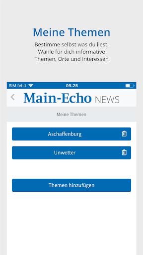 Main-Echo NEWS 6 تصوير الشاشة