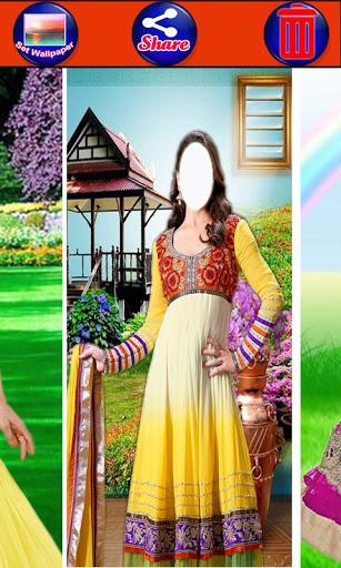 Salwar Suit For Girls : Women Salwar Photo Suit 4 تصوير الشاشة