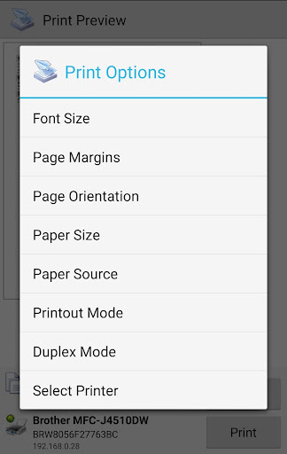 PrinterShare Mobile Print screenshot 4
