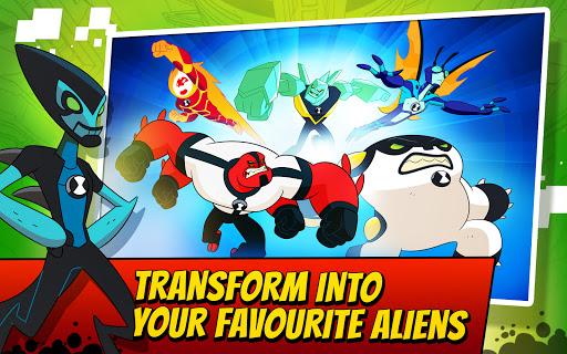 Ben 10 Alien Run 13 تصوير الشاشة