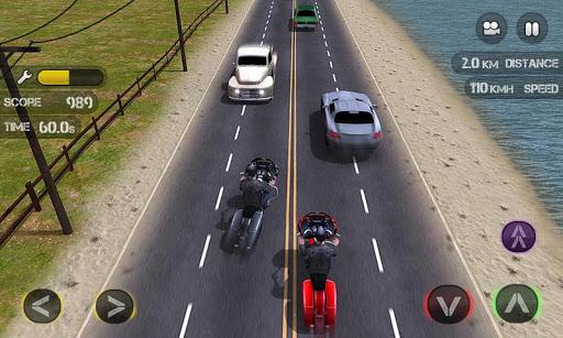 Race the Traffic Moto स्क्रीनशॉट 2