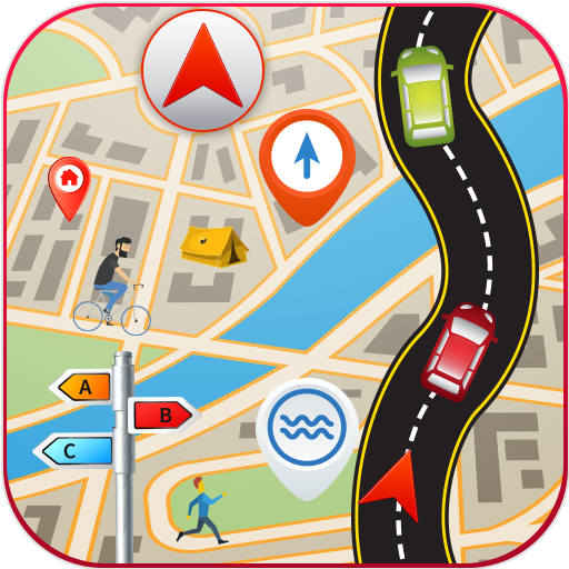 GPS Driving Route Finder icon