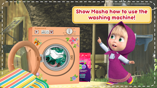 Masha and the Bear: House Cleaning Games for Girls screenshot 5