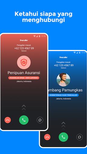 Truecaller: ID Penelepon, blokir spam, rekam telp screenshot 1