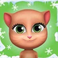 قطة إليسا المتكلمة. on 9Apps