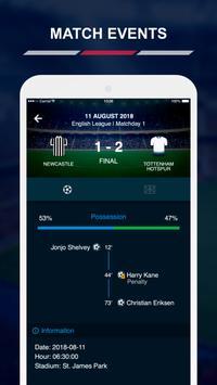 English League Scores स्क्रीनशॉट 3