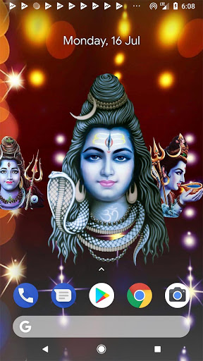 4D Shiv Shankara Live Wallpaper screenshot 3