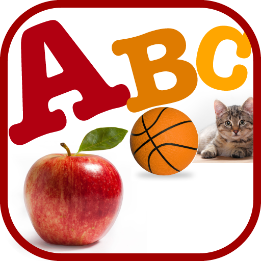ABC Alphabets Learning Flashcard for Toddlers Kids आइकन