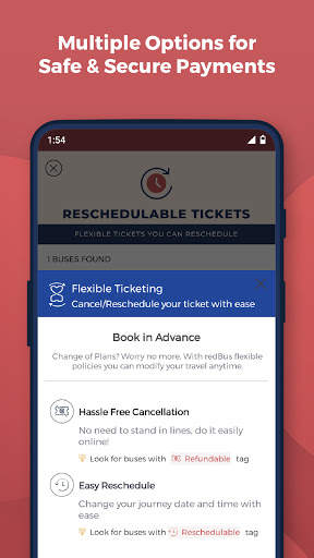 redBus - Online Bus Tickets and Ferry Booking App screenshot 5