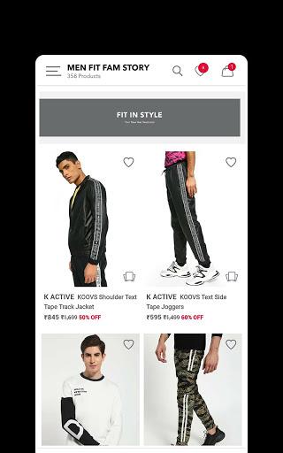Koovs Online Shopping App скриншот 3