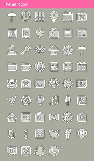 خلفيات وأيقونات Umbrella Sky 4 تصوير الشاشة