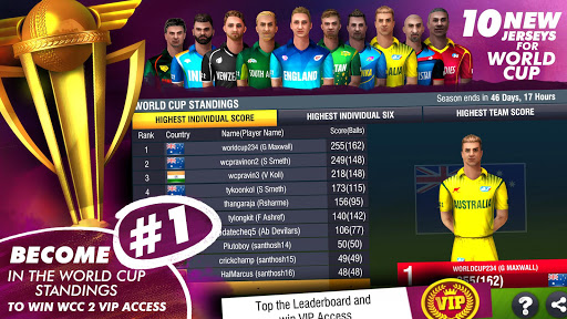 World Cricket Championship 2 - WCC2 स्क्रीनशॉट 3