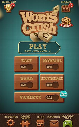 Words Crush: Hidden Words! 5 تصوير الشاشة