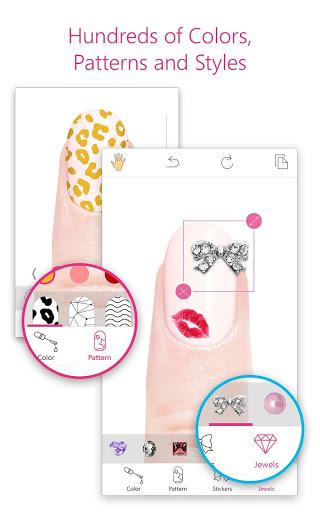 YouCam Nails - Manicure Salon for Custom Nail Art 1 تصوير الشاشة