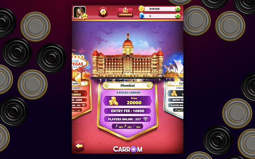 Carrom Friends : Carrom Board & Pool Game 24 تصوير الشاشة