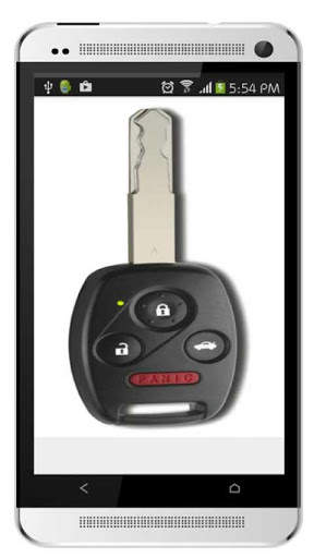 مفتاح السيارة عن بعد قفل محاكي 18 تصوير الشاشة