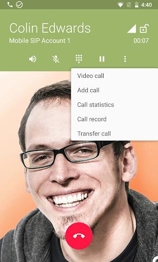 زويبر VOIP  الهاتف الرقمي 3 تصوير الشاشة