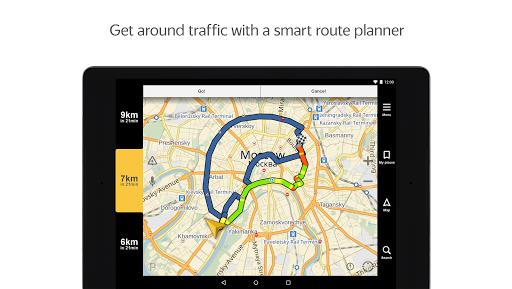Yandex.Navigator 10 تصوير الشاشة
